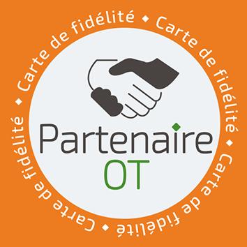 Partenaire de l'Office de Tourisme + Carte de fidélité