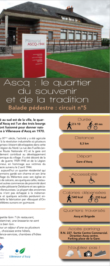 Brochures t l charger villeneuve d 39 ascq tourisme - Office du tourisme villeneuve d ascq ...