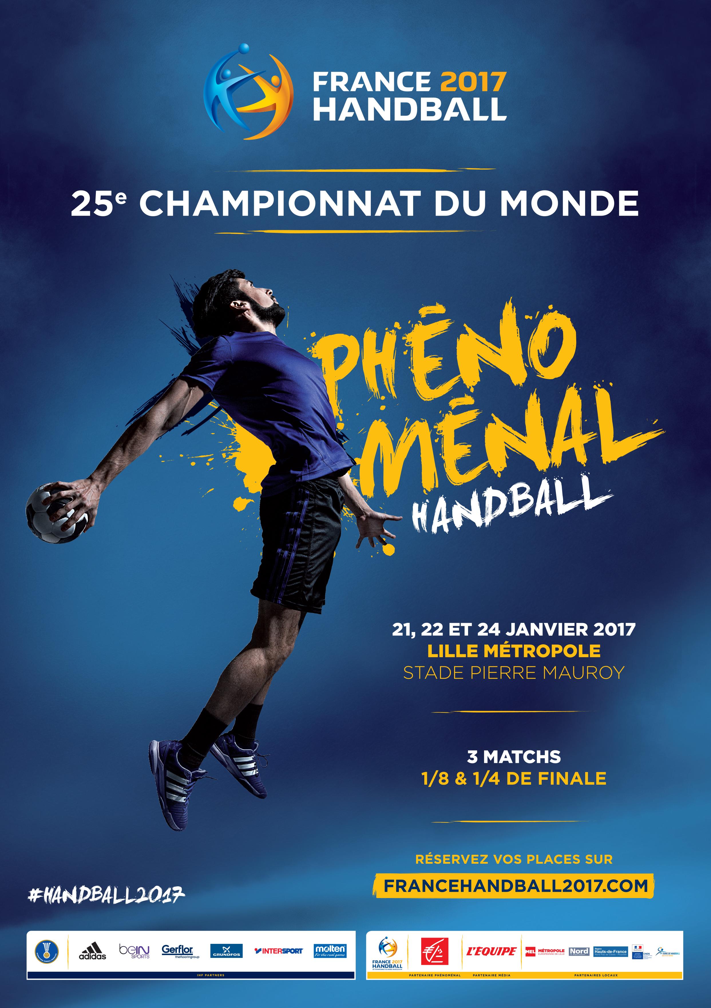 Championnat du monde de handball 2017 Villeneuve d Ascq Tourisme
