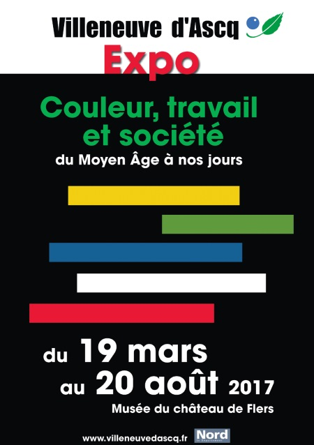 Expo couleur travail et soci t villeneuve d 39 ascq tourisme - Office du tourisme villeneuve d ascq ...