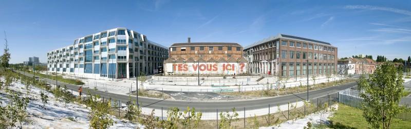 L 39 architecture contemporaine de la mel villeneuve d 39 ascq - Piscine creusee contemporaine tourcoing ...
