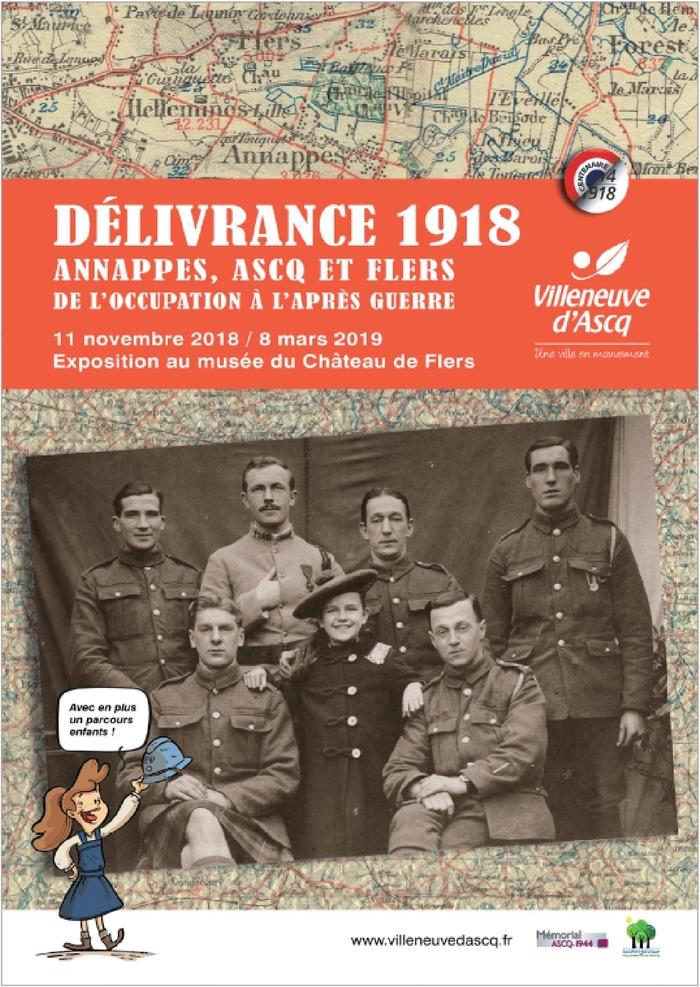 exposition-delivrance-1918-annappes-ascq-et-flers-de-l-occupation-a-l-apres-guerre-au-musee-du-chateau-de-flers