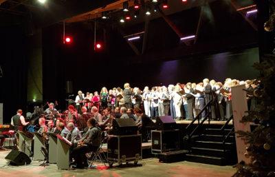 Vue du concert de Noël