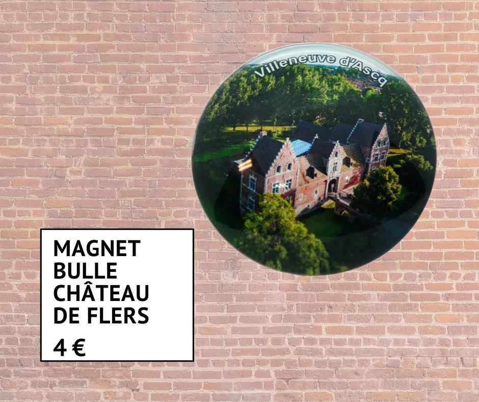 Magnet bulle du Château de Flers