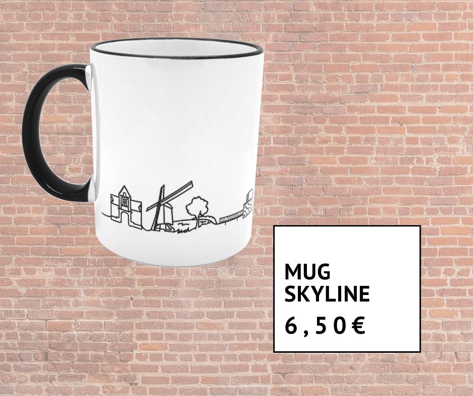 Mug Skyline 6 euros 50