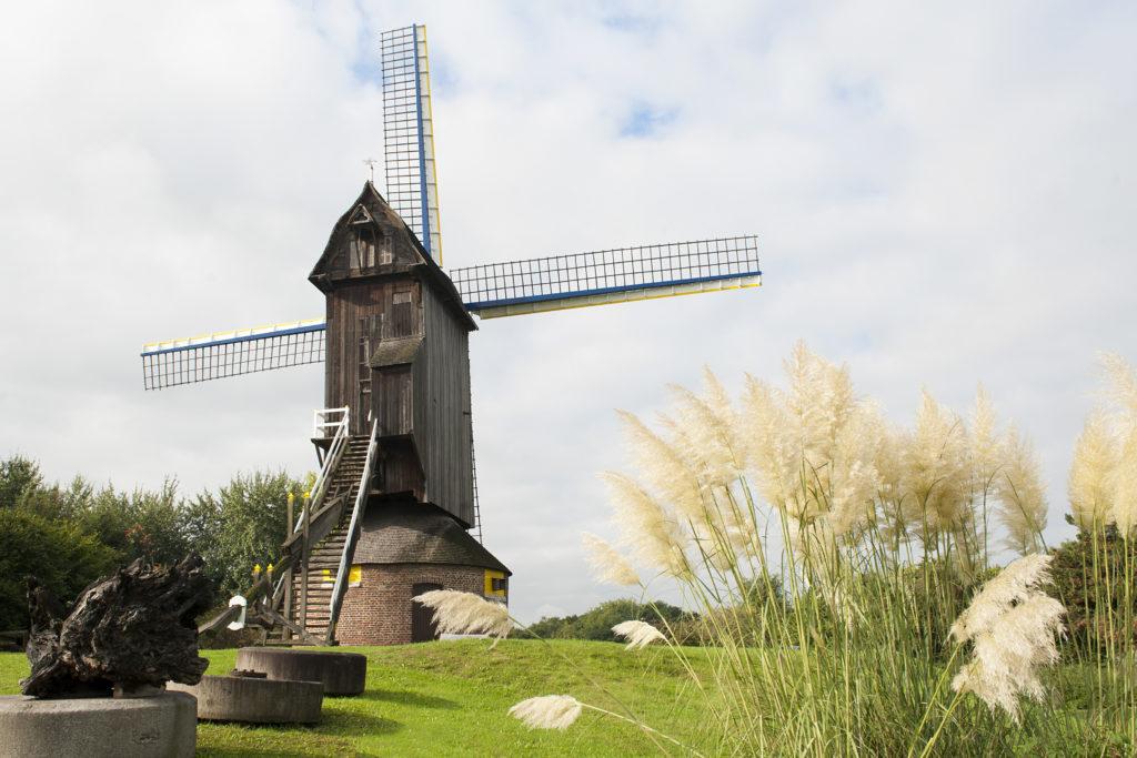 Vue d'un moulin
