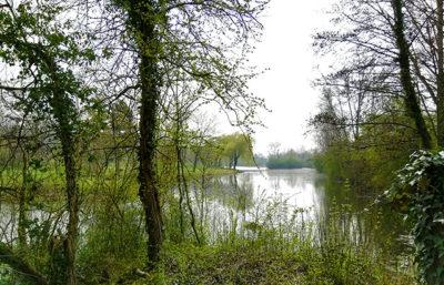 Vue du parc Saint Jean